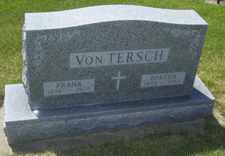 VON TERSCH, BERTHA - Shelby County, Iowa | BERTHA VON TERSCH
