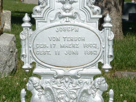 VON TERSCH, JOSEPH - Shelby County, Iowa | JOSEPH VON TERSCH