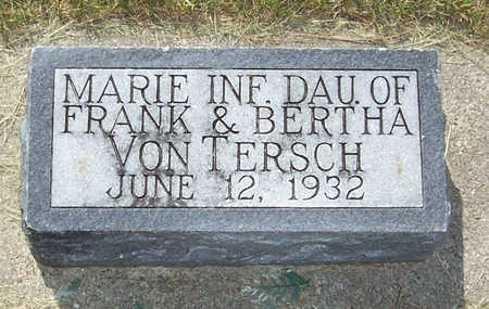 VON TERSCH, MARIE - Shelby County, Iowa   MARIE VON TERSCH