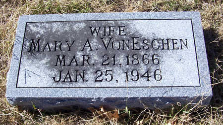 VONESCHEN, MARY A. (WIFE) - Shelby County, Iowa | MARY A. (WIFE) VONESCHEN