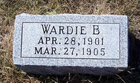 VONESCHEN, WARDIE B. - Shelby County, Iowa   WARDIE B. VONESCHEN