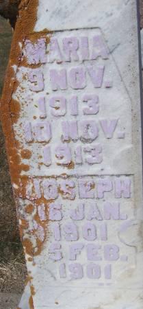 VON TERSCH, JOSEPH - Shelby County, Iowa   JOSEPH VON TERSCH