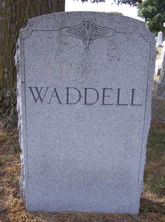 WADDELL, JOHN W. & SARAH I. (LOT STONE) - Shelby County, Iowa | JOHN W. & SARAH I. (LOT STONE) WADDELL