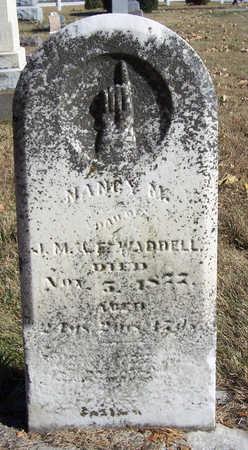 WADDELL, NANCY M. - Shelby County, Iowa | NANCY M. WADDELL