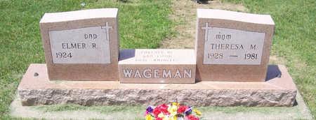 WAGEMAN, ELMER R. - Shelby County, Iowa | ELMER R. WAGEMAN