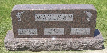 WAGEMAN, JOHN A. - Shelby County, Iowa | JOHN A. WAGEMAN
