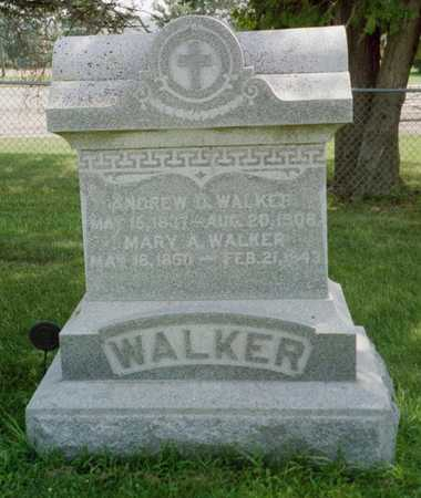 MILLER WALKER, MARY AGNES - Shelby County, Iowa | MARY AGNES MILLER WALKER
