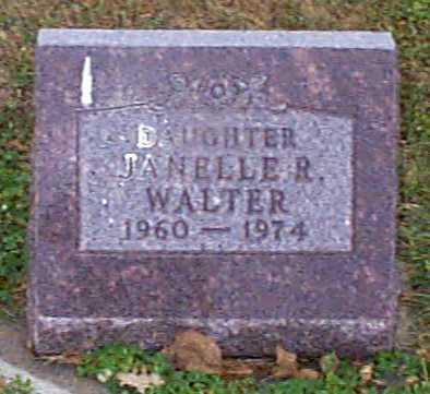 WALTER, JANELLE R - Shelby County, Iowa | JANELLE R WALTER