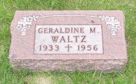 WALTZ, GERALDINE M. - Shelby County, Iowa | GERALDINE M. WALTZ