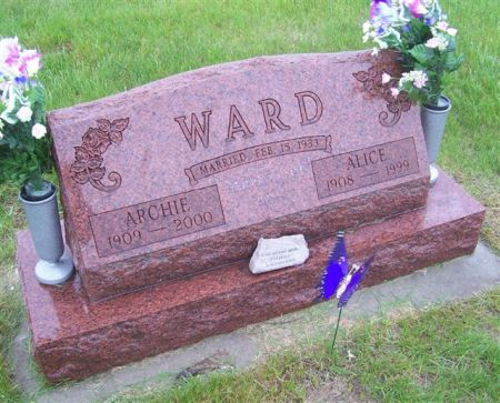 WARD, ALICE - Shelby County, Iowa | ALICE WARD