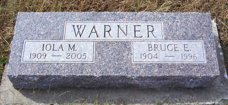 WARNER, IOLA M. - Shelby County, Iowa | IOLA M. WARNER