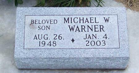 WARNER, MICHAEL W. - Shelby County, Iowa | MICHAEL W. WARNER