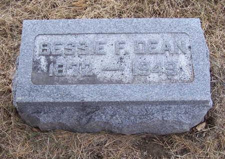 DEAN WATKINS, BESSIE F. - Shelby County, Iowa | BESSIE F. DEAN WATKINS