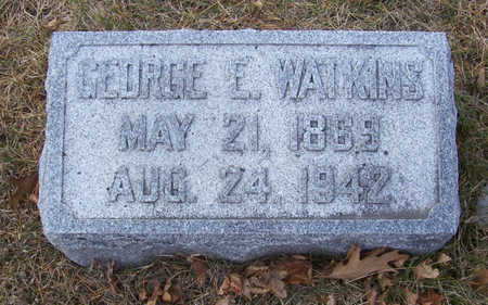 WATKINS, GEORGE ELVADORE - Shelby County, Iowa | GEORGE ELVADORE WATKINS
