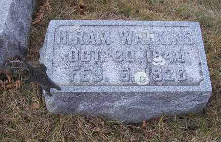 WATKINS, HIRAM - Shelby County, Iowa | HIRAM WATKINS