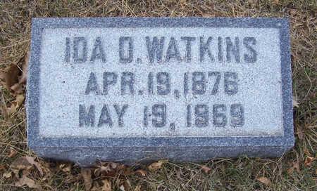 WATKINS, IDA - Shelby County, Iowa   IDA WATKINS