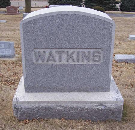 WATKINS, WILLIAM A. & ANNA K. (LOT) - Shelby County, Iowa   WILLIAM A. & ANNA K. (LOT) WATKINS