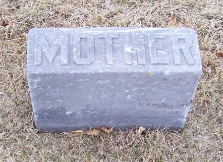 WATSON, MARY E. (MOTHER) - Shelby County, Iowa | MARY E. (MOTHER) WATSON