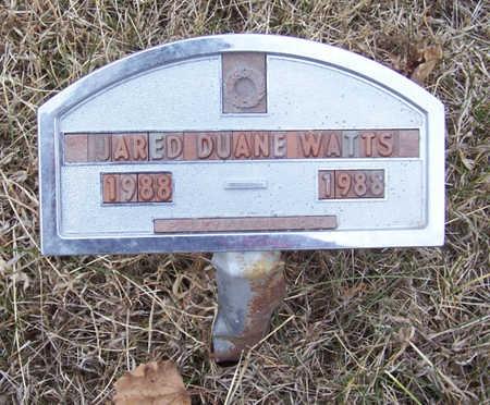 WATTS, JARED DUANE - Shelby County, Iowa | JARED DUANE WATTS