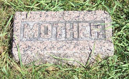 WAY, EMMA E. (MOTHER) - Shelby County, Iowa | EMMA E. (MOTHER) WAY