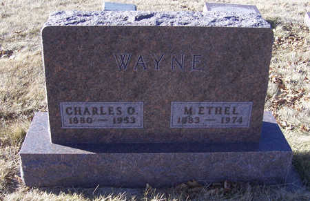 WAYNE, CHARLES O. - Shelby County, Iowa | CHARLES O. WAYNE