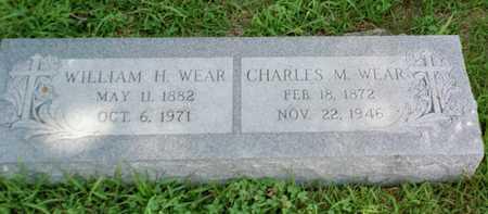 WEAR, CHARLES M. - Shelby County, Iowa   CHARLES M. WEAR