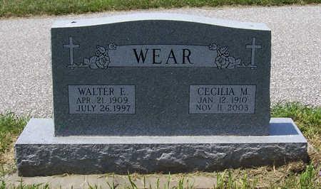 WEAR, CECILIA M. - Shelby County, Iowa | CECILIA M. WEAR