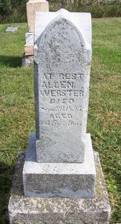 WEBSTER, ALLEN - Shelby County, Iowa | ALLEN WEBSTER