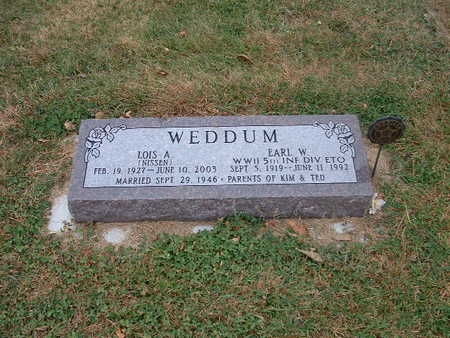 WEDDUM, LOIS A - Shelby County, Iowa | LOIS A WEDDUM