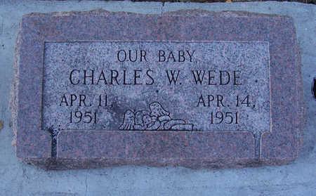WEDE, CHARLES W. - Shelby County, Iowa | CHARLES W. WEDE