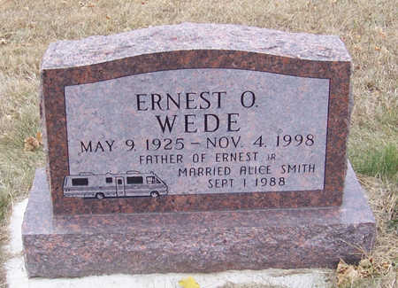 WEDE, ERNEST O. - Shelby County, Iowa   ERNEST O. WEDE