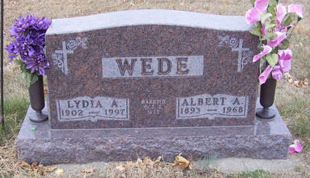 WEDE, ALBERT A. - Shelby County, Iowa | ALBERT A. WEDE