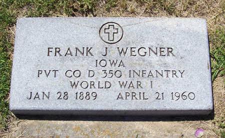 WEGNER, FRANK J. (MILITARY) - Shelby County, Iowa | FRANK J. (MILITARY) WEGNER