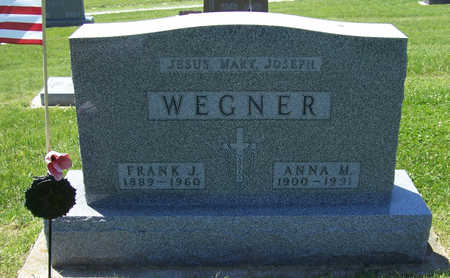WEGNER, ANNA M. - Shelby County, Iowa | ANNA M. WEGNER