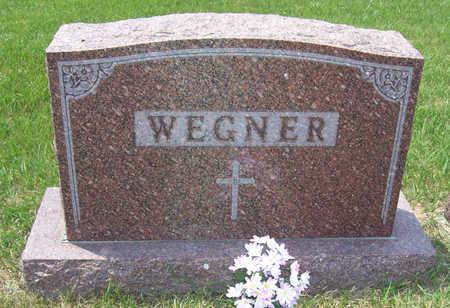 WEGNER, PAUL & KATHERINE (LOT) - Shelby County, Iowa   PAUL & KATHERINE (LOT) WEGNER
