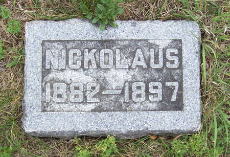 WEHR, NICKOLAUS - Shelby County, Iowa   NICKOLAUS WEHR