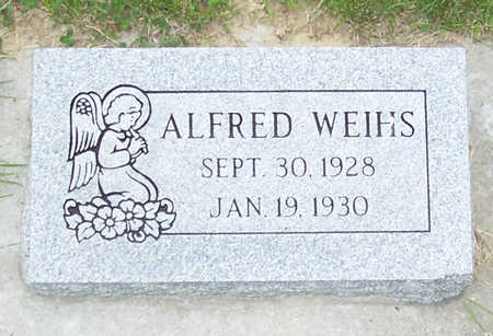 WEIHS, ALDRED JOHN - Shelby County, Iowa | ALDRED JOHN WEIHS