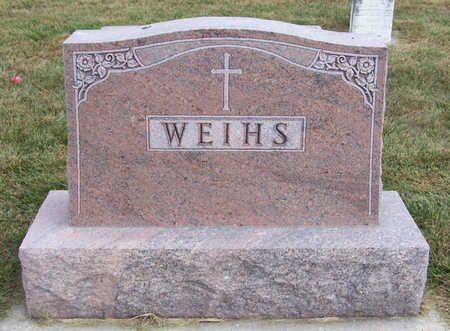 WEIHS, JOSEPH & THERESA (LOT) - Shelby County, Iowa   JOSEPH & THERESA (LOT) WEIHS