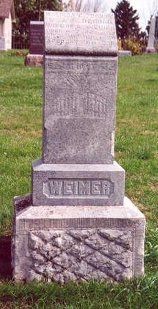 WEIMER, MALINDA - Shelby County, Iowa   MALINDA WEIMER