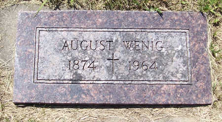 WENIG, AUGUST - Shelby County, Iowa   AUGUST WENIG