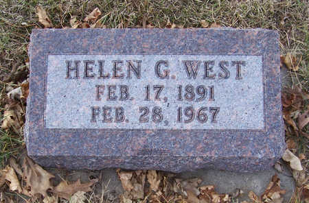 WEST, HELEN G. - Shelby County, Iowa | HELEN G. WEST