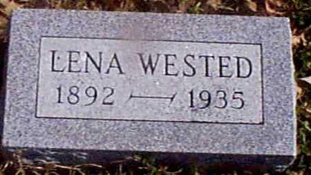 WESTED, LENA - Shelby County, Iowa | LENA WESTED