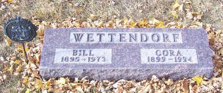 WETTENDORF, CORA - Shelby County, Iowa | CORA WETTENDORF