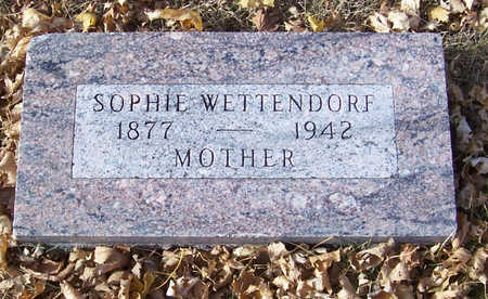 WETTENDORF, SOPHIE (MOTHER) - Shelby County, Iowa   SOPHIE (MOTHER) WETTENDORF