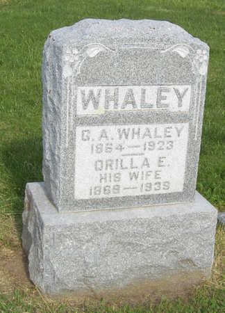 WHALEY, ORILLA E. - Shelby County, Iowa | ORILLA E. WHALEY