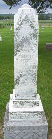 WHEELER, MAMIE F. (FRONT) - Shelby County, Iowa | MAMIE F. (FRONT) WHEELER