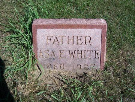 WHITE, ASA E. (FATHER) - Shelby County, Iowa | ASA E. (FATHER) WHITE