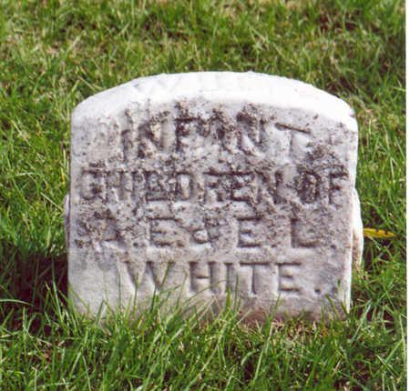 WHITE, INFANTS - Shelby County, Iowa | INFANTS WHITE