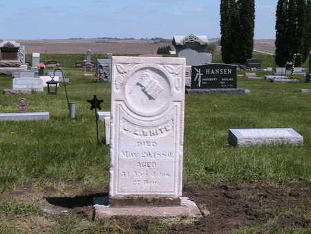 WHITE, JAMES L.  (HISTORICAL) - Shelby County, Iowa | JAMES L.  (HISTORICAL) WHITE