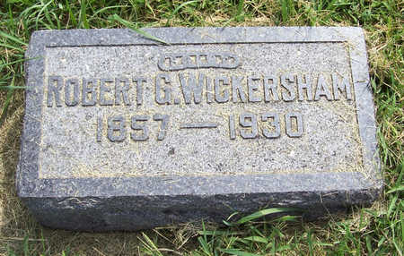 WICKERSHAM, ROBERT G. - Shelby County, Iowa | ROBERT G. WICKERSHAM